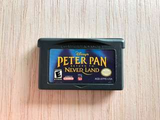Gameboy Advance Cartridge - Peter Pan