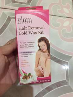 Glamworks Hair Removal Cold Wax Kit