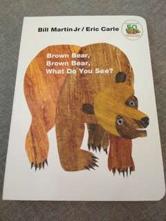 """Brown Bear, Brown Bear, What Do You See?"" Book"