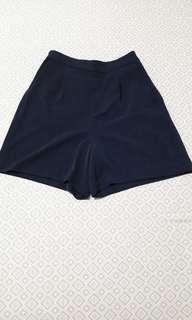 Uniqlo Shorts Navy Blue