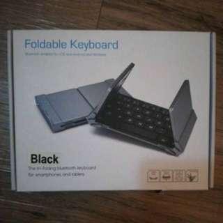 Foldable Bluetooth Keyboard... New