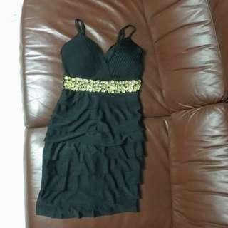 🚚 黑色性感洋裝