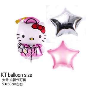 Graduation balloon bouquet with Helium -KT