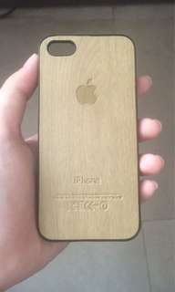 Case iPhone 5/5s/5c Wooden