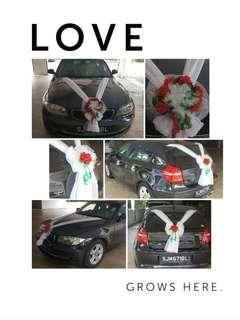 Wedding Car Flora Deco