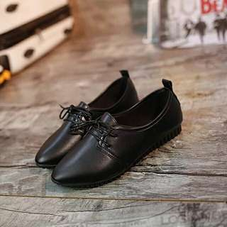 Lucky black rubber shoes
