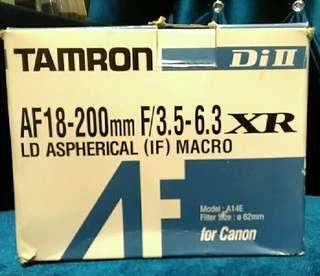 Tamron canon mount 18-200mm