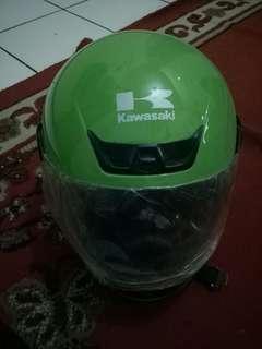 Helm ori kawasaki