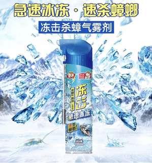 日本安速 凍擊殺曱甴氣霧劑