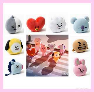 [PREORDER] BT21 PLUSHIES