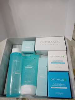 (reprice) skin care Optimals hydra radiance Oriflame
