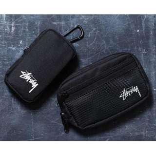 💥CHEAPEST - Stussy 2 in 1 Pouches Set
