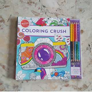 Klutz Coloring Crush