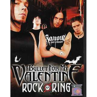Bullet For My Valentine Live At Rock Am Ring 2013 DVD