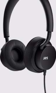 u-JAYS on ear headphone (BNIB)