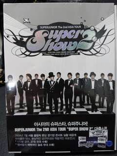 Super junior - Super Show 2 Tour DVD