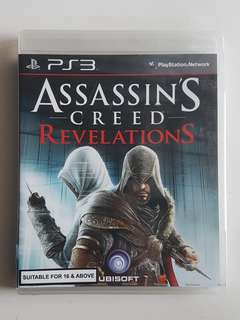 Ps3 Assassin's Creed Revelations Game