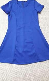 Black Sheep Dress Blue