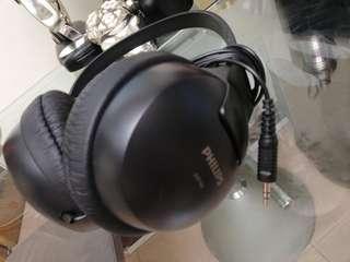 PHILIPS 有線 headphone