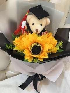 Everlasting Graduation Bouquet - keepsake
