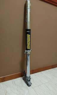 DRZ400SM Showa fork (Left side only)