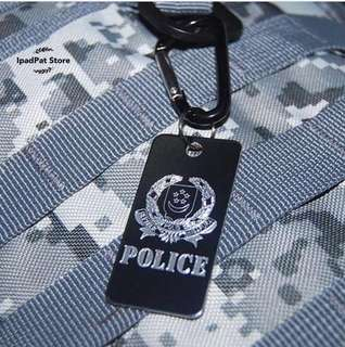 🚚 [BN] SPF POLICE ENGRAVED METAL LUGGAGE TAG