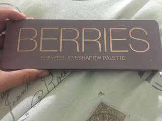 BYS Berries Eyeshadow Pallete
