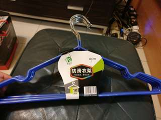 40 cm 防滑衫架 anti-slip clothes hanger 10 pcs 10 件