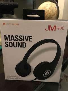 全新 Headphones  JM - 106