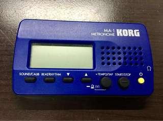 Korg Metronome MA- 1  拍子機