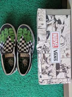Vans x Marvel slip on checkerboard hulk not word division air jordan puma nike
