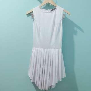 Vivian chanelle sleveless white dress