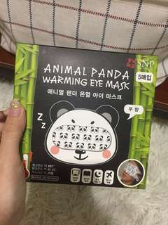 INSTOCK SNP animal panda warming eye mask