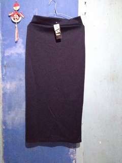 Pencil Skirt Navy Rok Panjang