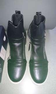 平底內增高短靴 女神鞋
