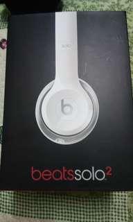 Beats Solo2 white