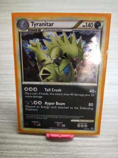 Pokemon Card Tyranitar 26/95 Reverse Holo