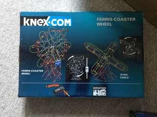K'nex ferris coaster wheel