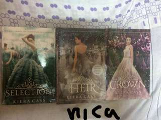 Kiera Cass - The Selection, The Heir, The Crown