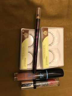 Lipstik & eyeliner & bulumata