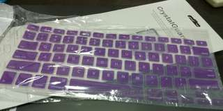 Macbook Keyboard Protector purple