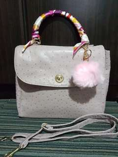 Pink bag with sling