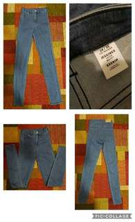 H&M highwaist denim pants