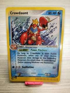 Pokemon Card Crawdaunt 3/97 Holo Rare Ex Dragon