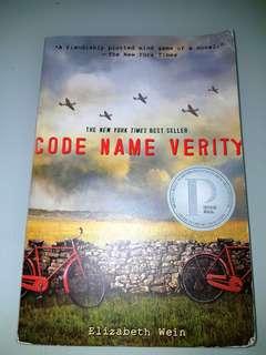 🚚 Code Name Verity by Elizabeth Wein