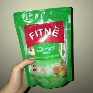 FITNE HERBAL TEA GREEN TEA FLAVOUR
