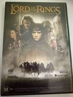 the lord  of the Ring Dvd