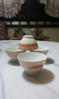 Rare Asahan Dessert bowls