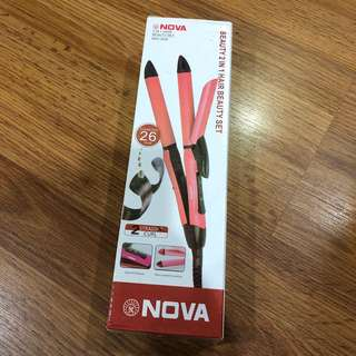 Nova 2 in 1 Hair Styling Tools
