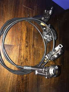 Used Shimano BL- M820 Front n Rear brakes